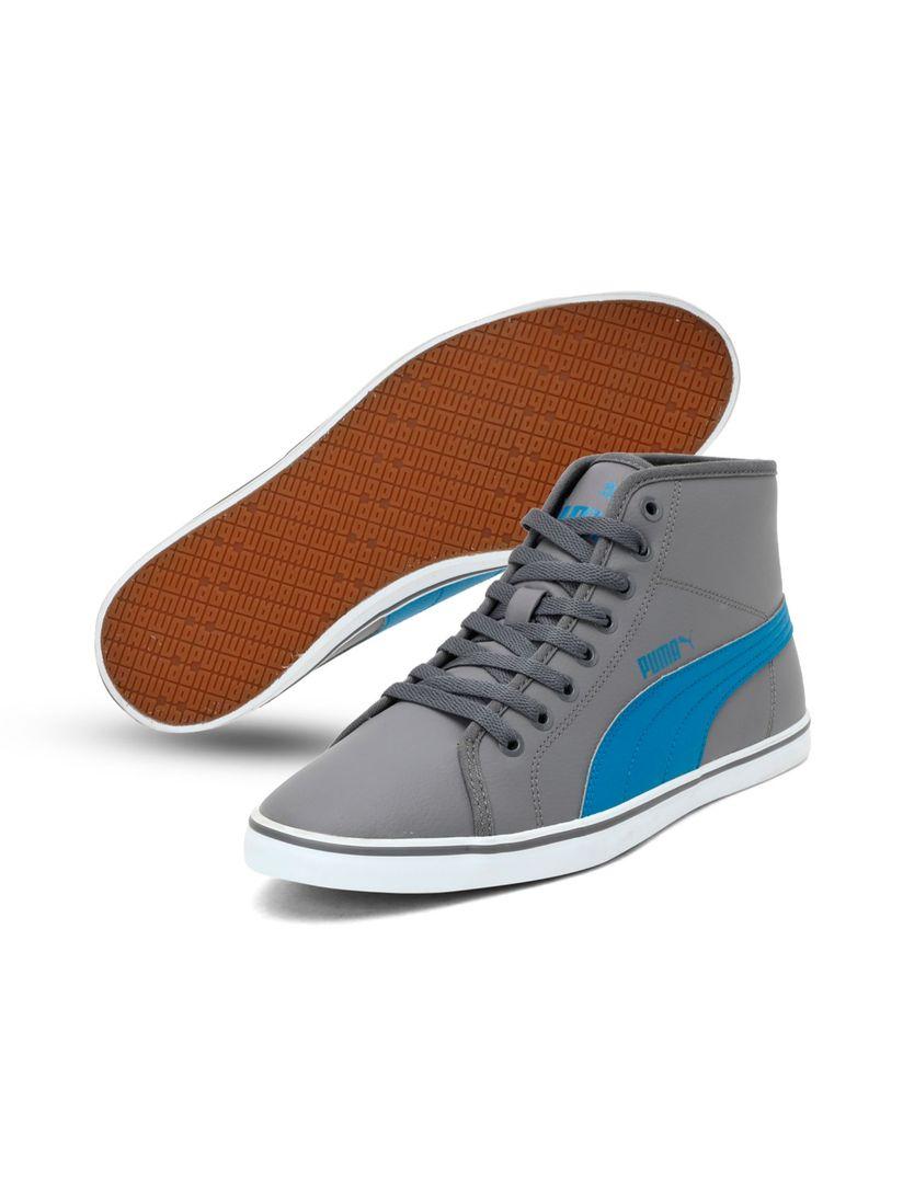 Puma Grey Elsu v2 Mid SL IDP Sneakers