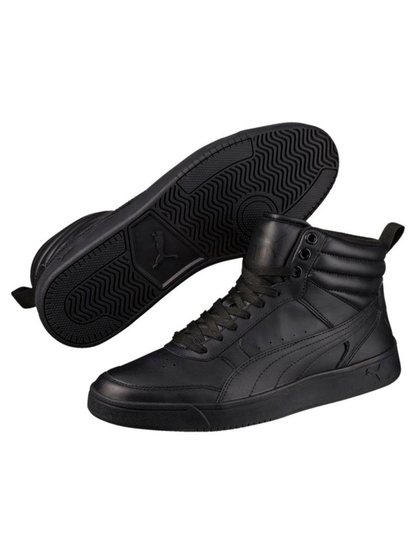 Puma Black Rebound Street v2 L Sneakers