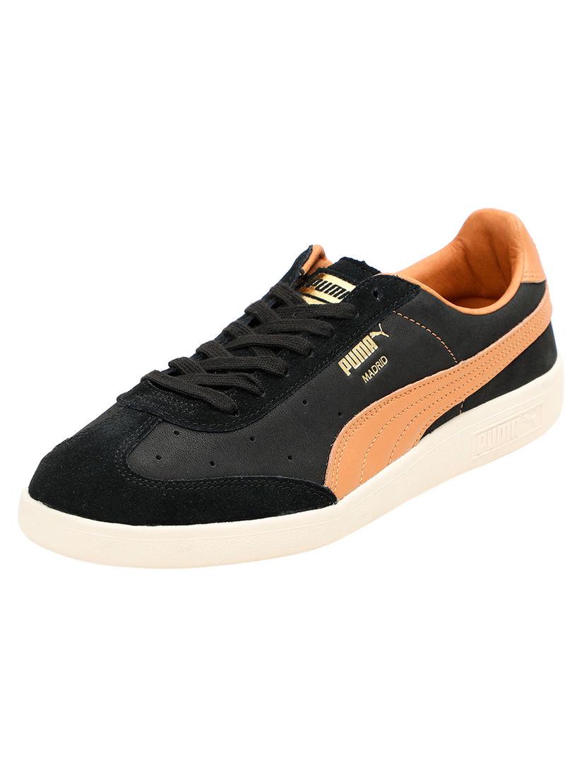 Buy PUMA Black Madrid Tanned Sneakers