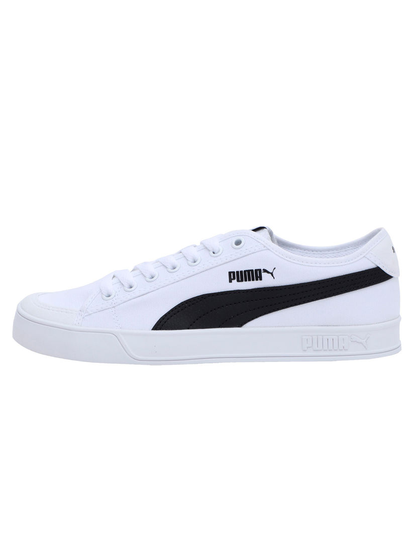 PUMA White Smash v2 Vulc CV Sneakers