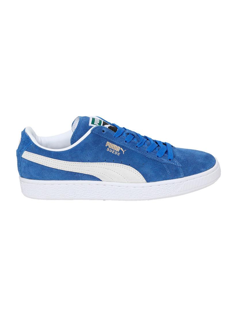 PUMA Blue Suede Classic + IDP Sneakers