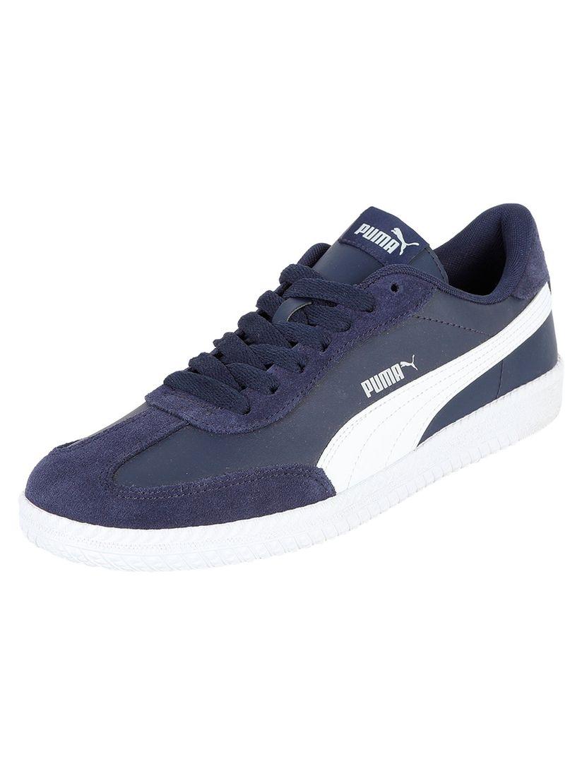 PUMA Navy Blue Astro Cup SL Sneakers