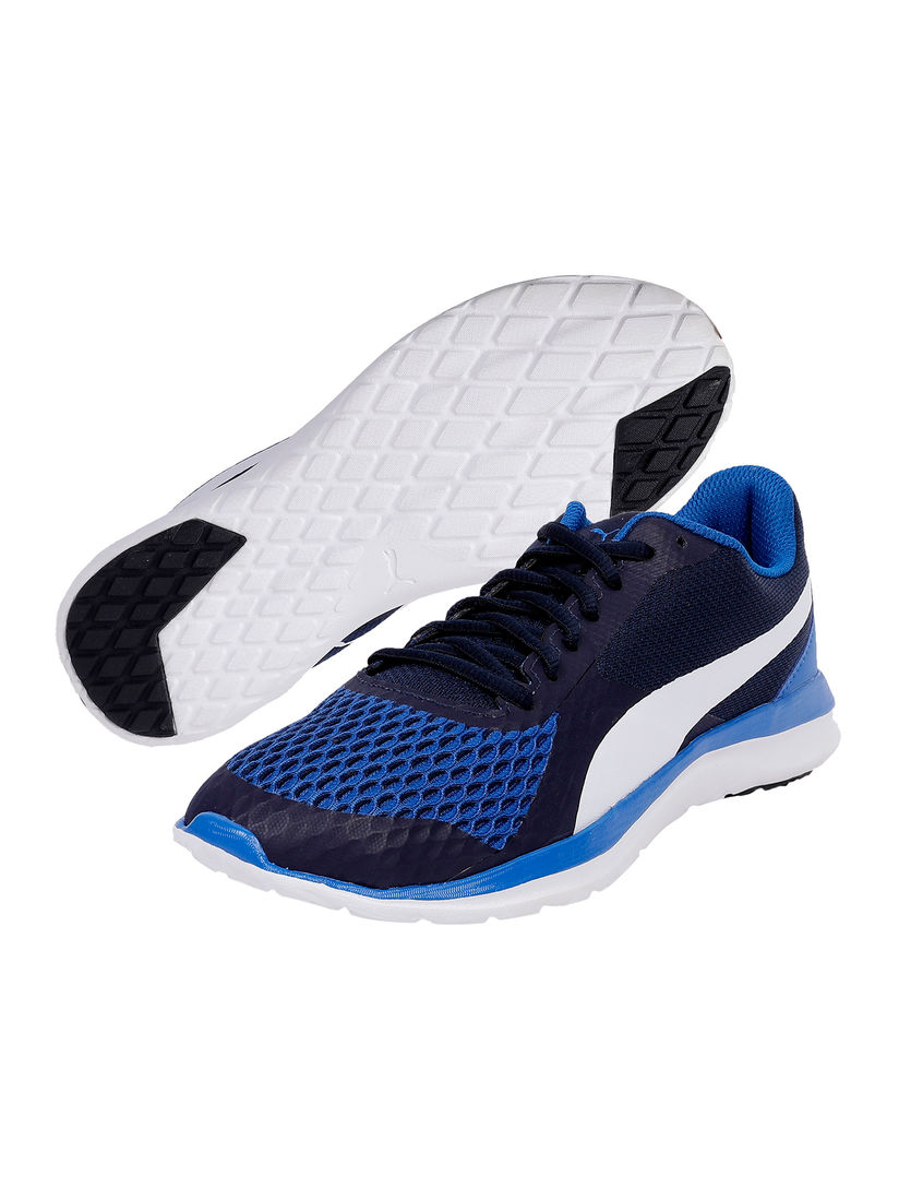 Ilustrar Por nombre Preescolar  Puma Sports Shoes & Sneakers : Buy Puma Navy Blue Flex T1 Reveal IDP Unisex  Running Shoes Online | Nykaa Fashion.