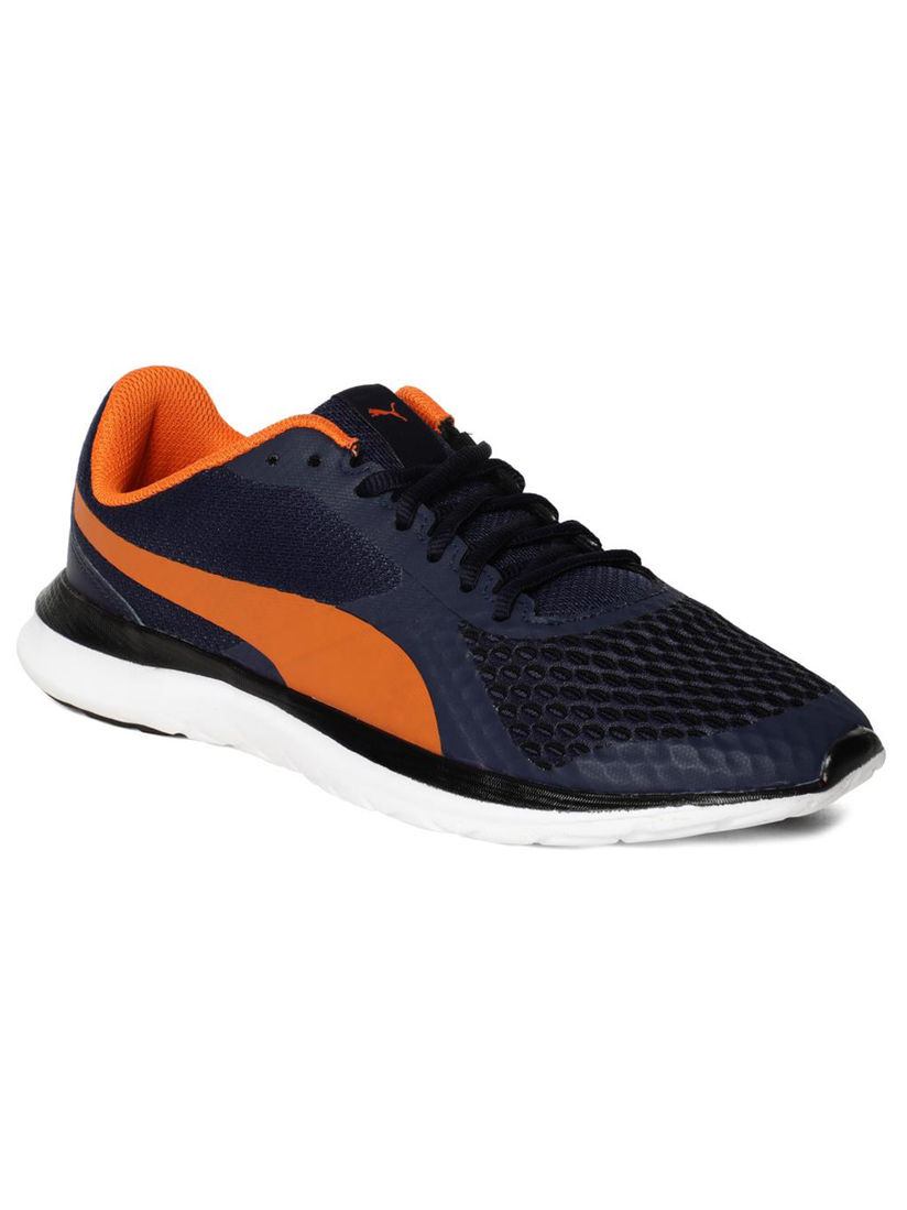 realimentación Presa Periodo perioperatorio  Puma Footwear : Puma Unisex Flex T1 Reveal IDP Sports Shoes - Blue (11)  Online | Nykaa Fashion