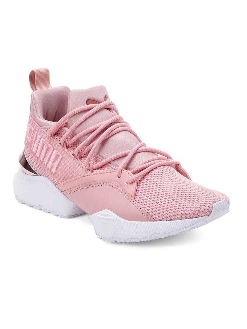 Puma Muse Maia Metallic Rose WNS Women Casual Shoes - Pink