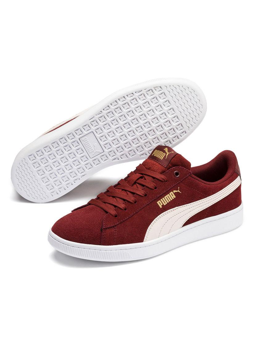Buy Puma Maroon PUMA Vikky V2 Sneakers