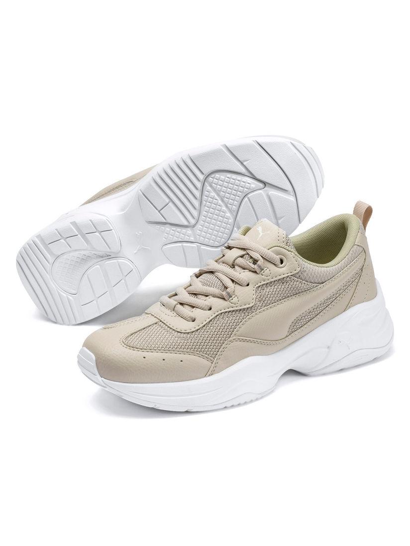 Puma Beige Cilia Running Shoes