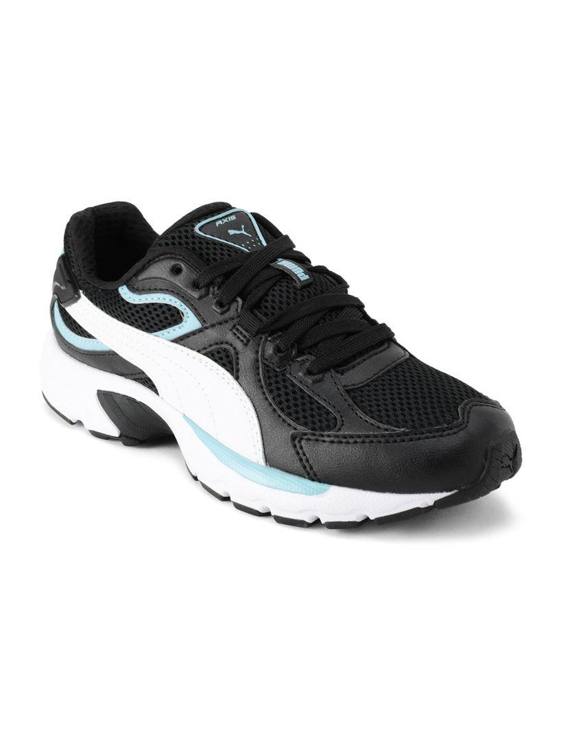 eliminar Viaje Uva  Puma Footwear : Puma Axis Plus 90s Unisex Casual Shoes - Black Online |  Nykaa Fashion
