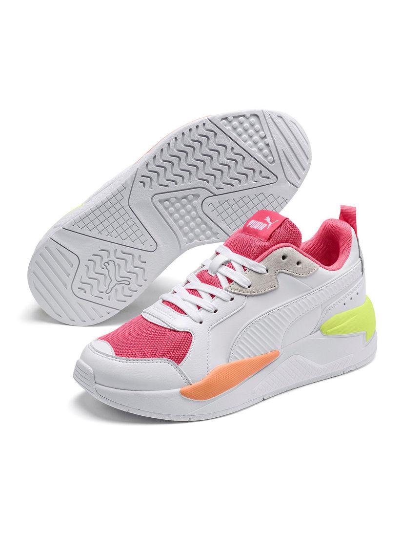Puma White X-Ray Game Unisex Running Shoes