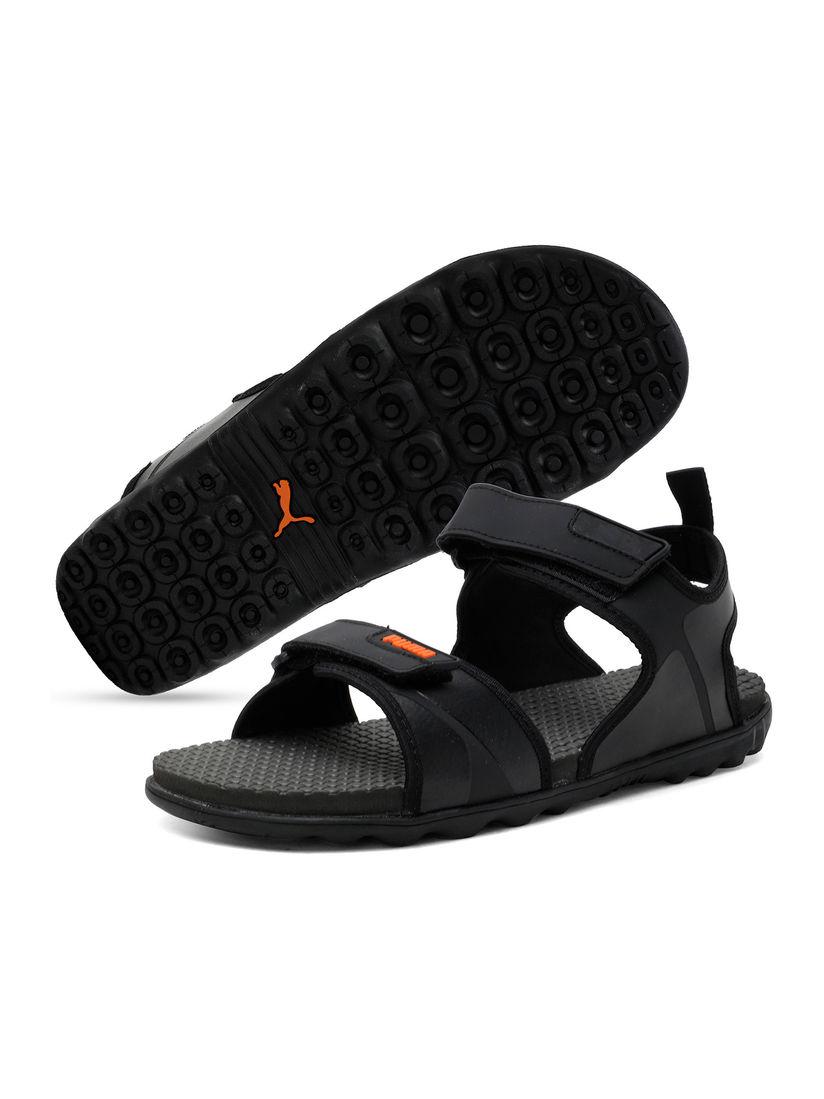 Puma Black Crystal IDP Unisex Sandals