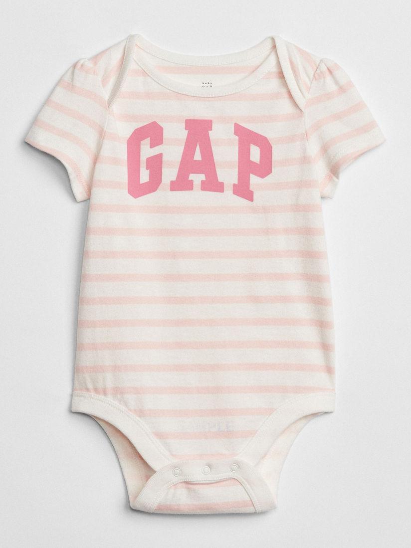 New Baby Gap Boys Navy Blue /& White Stripe Brannan Bear Graphic Pocket Bodysuit