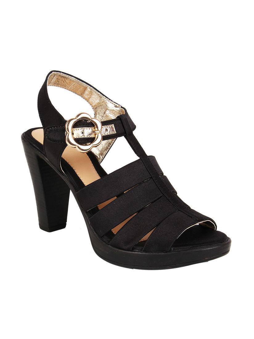 Buy Catwalk Black High Heels Online