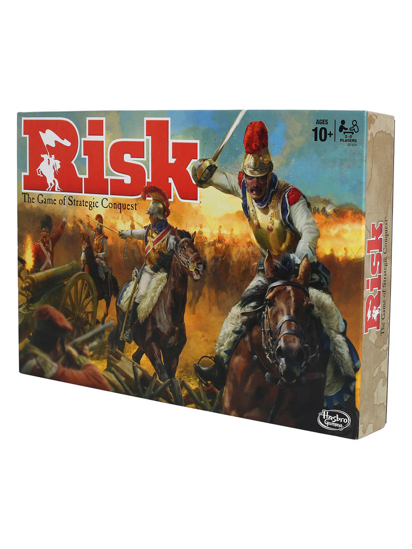 Risk Sports And Board Games Buy Risk Multi Colour Game Of Strategic Conquest Game For Families Kids Ages 10 Up 2 5 Players Online Nykaa Fashion