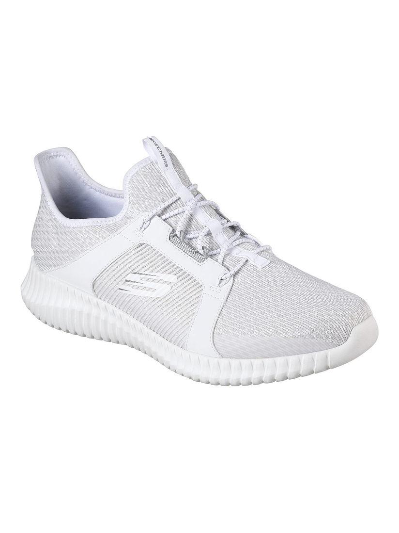 SKECHERS Elite Flex White Walking Shoes