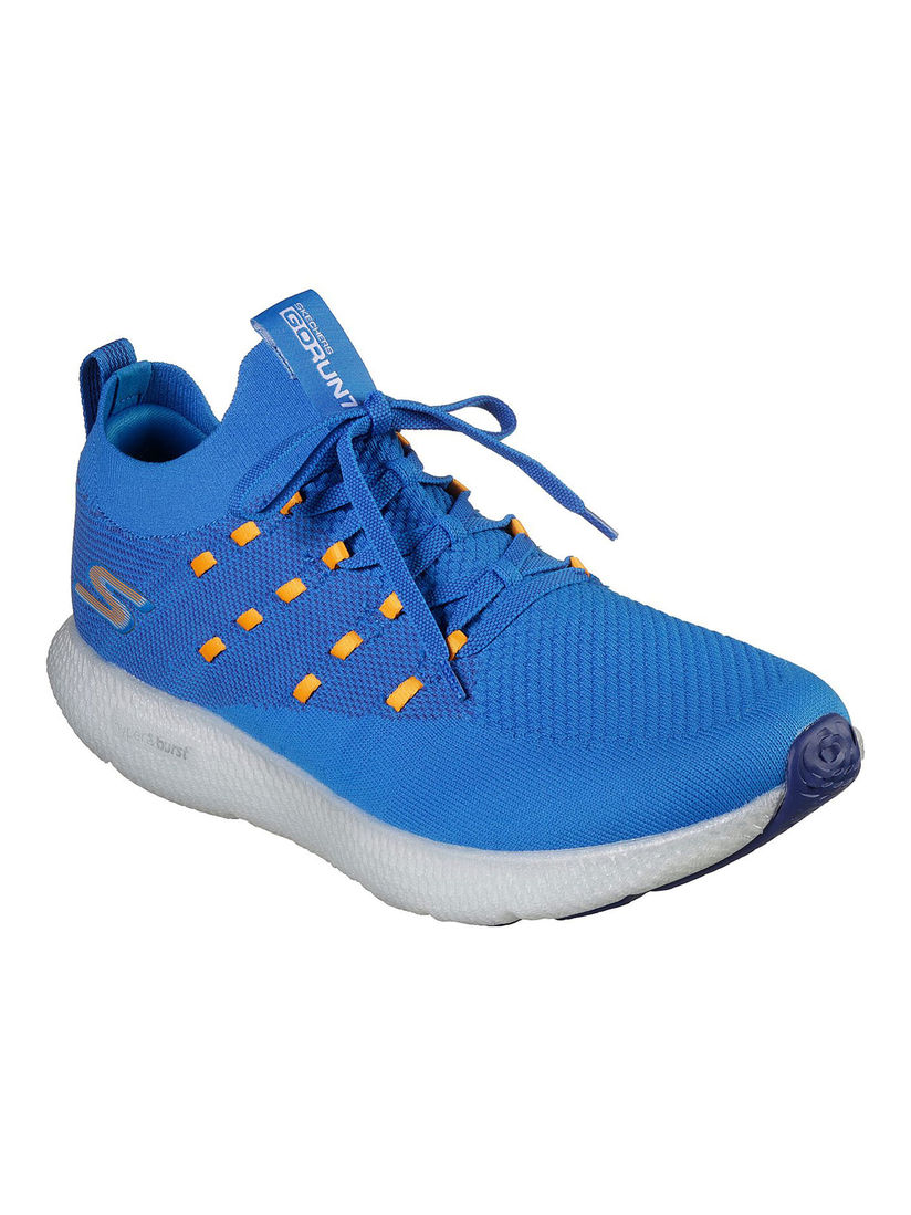 Buy SKECHERS Go Run 7 Sky Blue Running