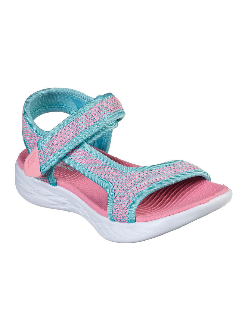 Go 600 Crush Brights Solid Sandals