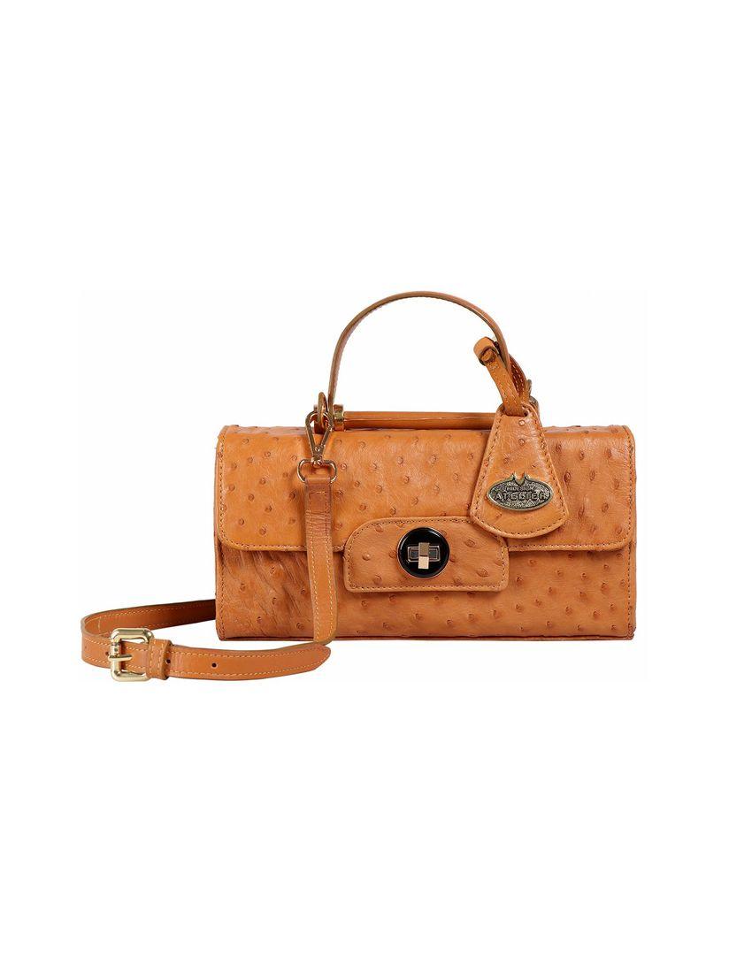 Hidesign Handbags : Buy Hidesign Loire Tan Women's Shoulder Bag Online |  Nykaa Fashion