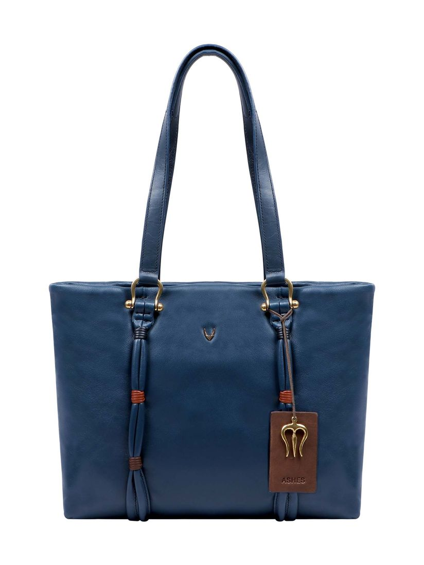 buying cheap durable in use search for latest Hidesign Tote Bags Buy: Hidesign Moksha 01 Blue Leather Women's Tote Bags  Online   Nykaa Fashion