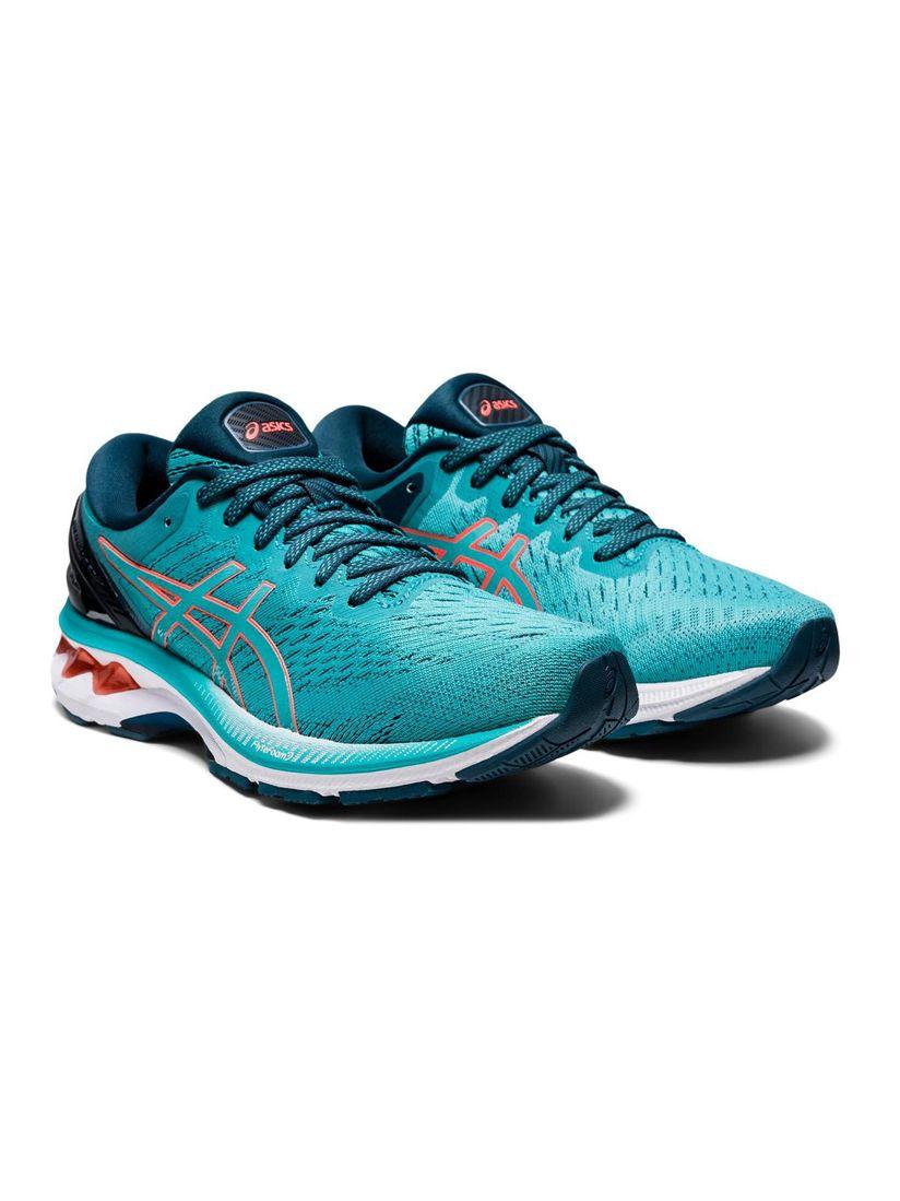 ASICS Asics Blue Patterned Sports Shoes