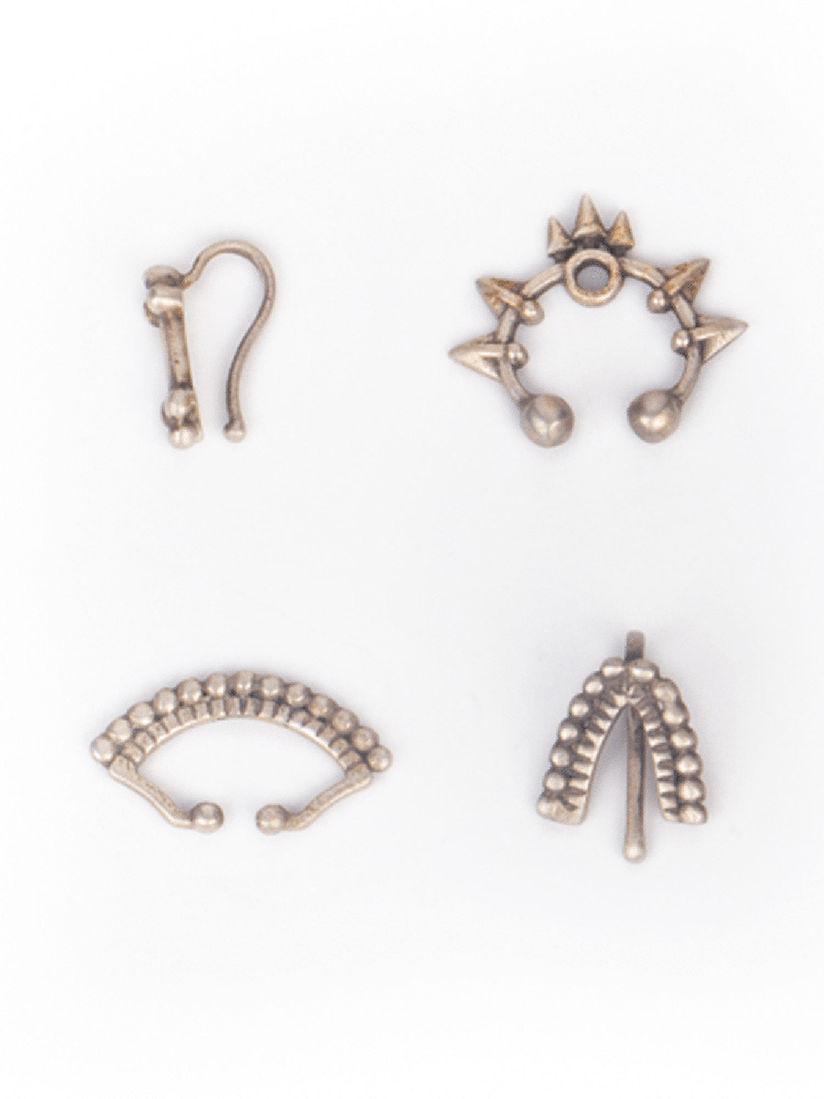 Shaya By Caratlane Nose Rings Buy Shaya By Caratlane Silver