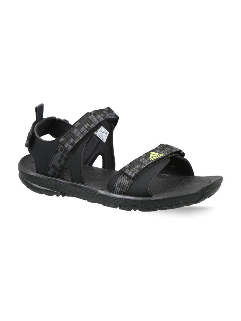 Buy adidas Black EDIFFIN II Sandals