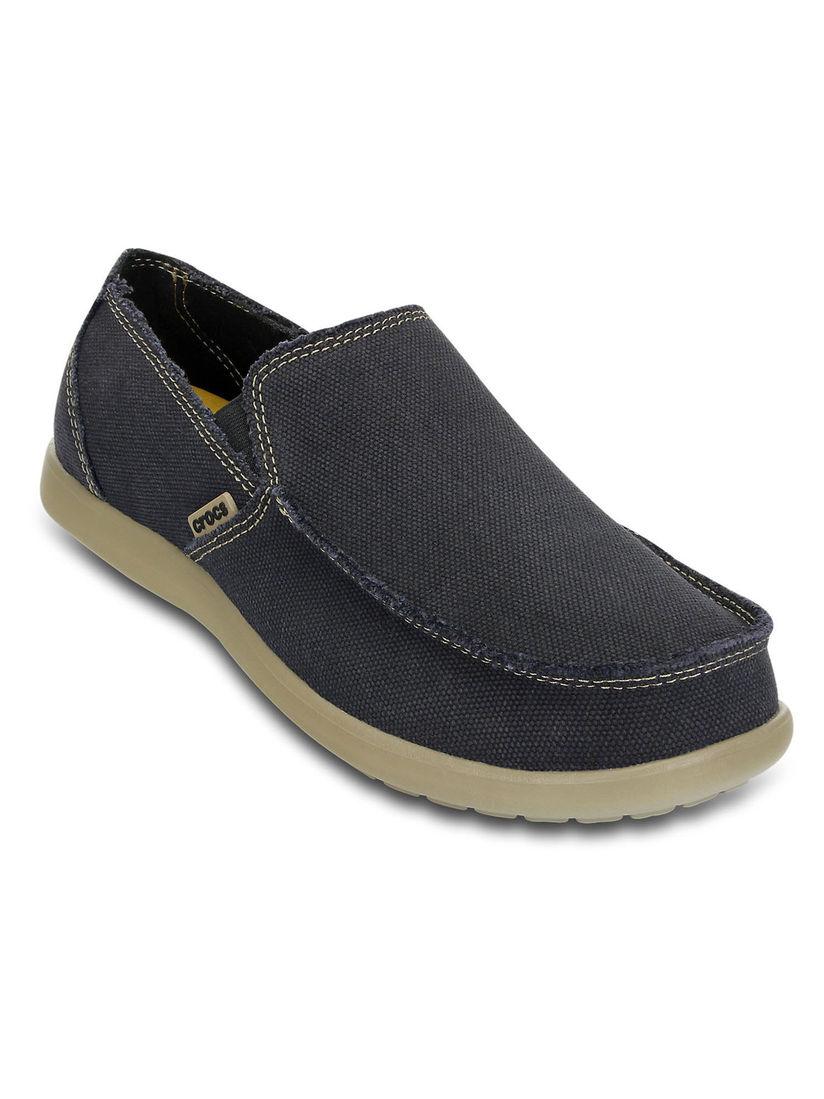 Buy Crocs Black Solid Loafers Online