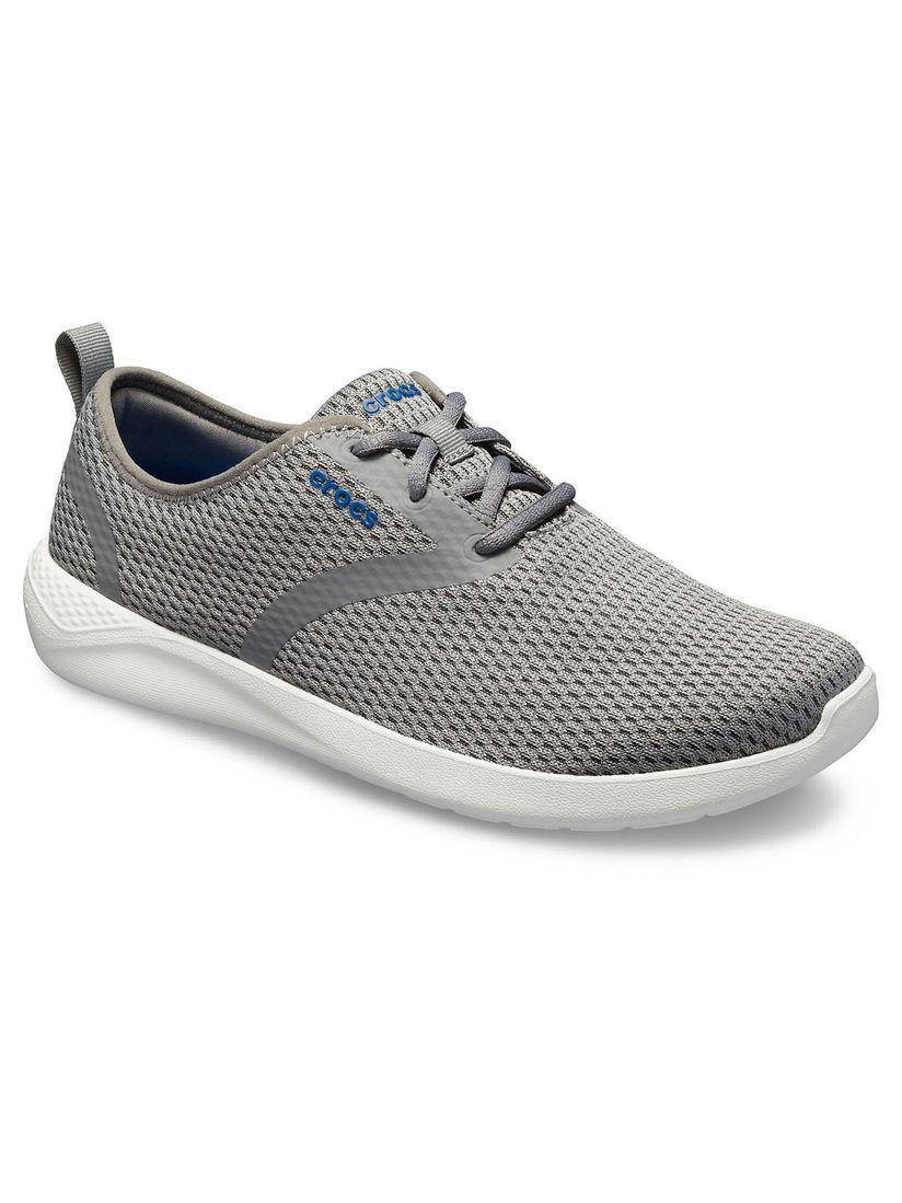 Buy Crocs LiteRide Mesh Lace Grey Shoes