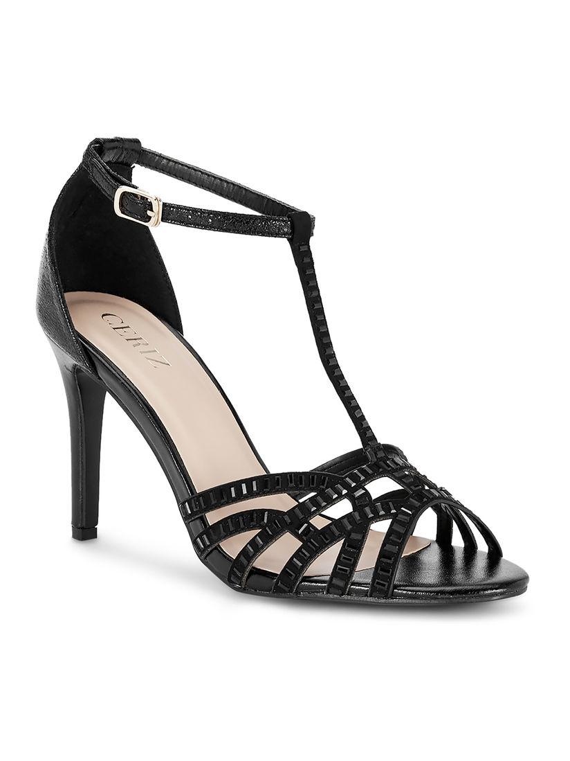 Buy CERIZ Black Holly Heels Online