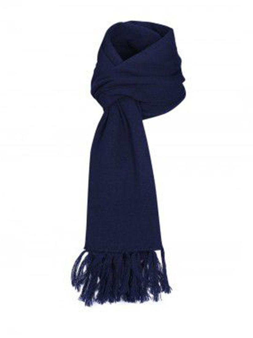 Woollen Wear Muffler Buy Woollen Wear Navy Blue Pure Wool Muffler Online Nykaa Fashion