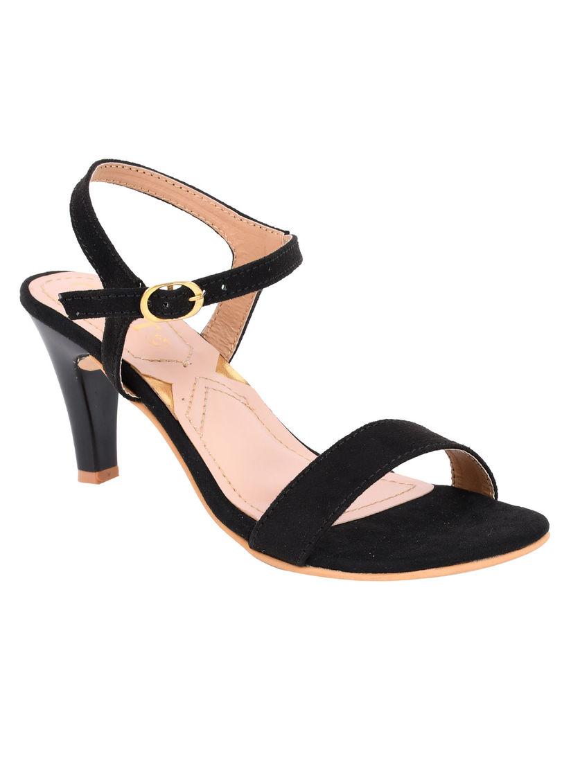 Buy GNIST Basic Ankle Black Stilettos