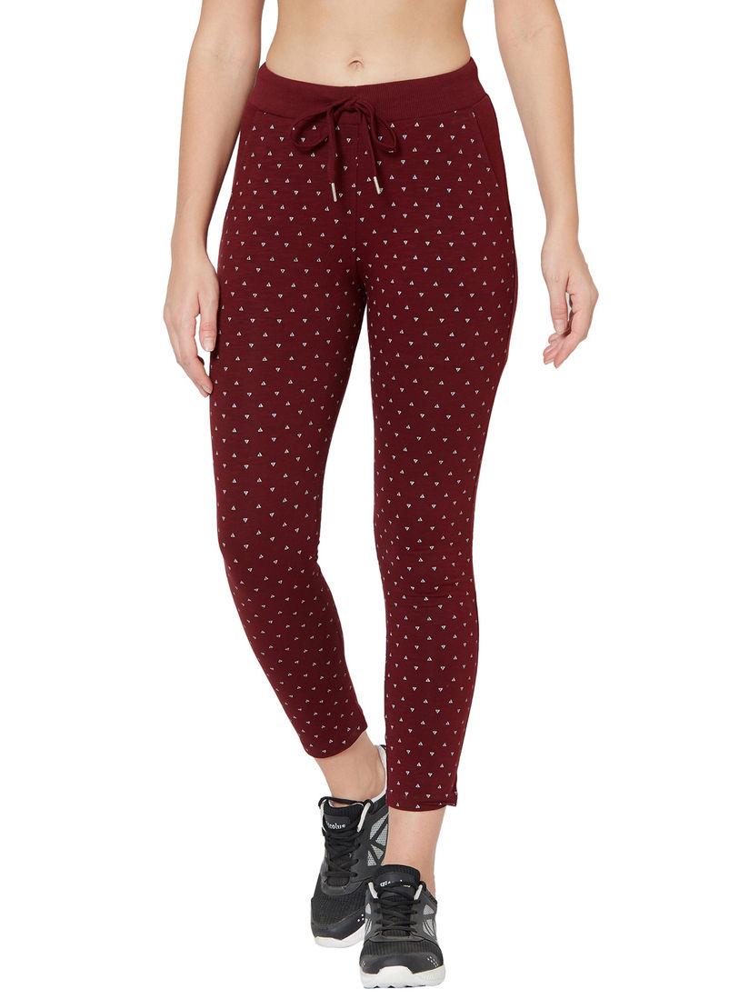 Juliet Lingerie : Juliet JA-11 Maroon Women's Cotton Sports Active Wear  Track Pants Online   Nykaa Fashion