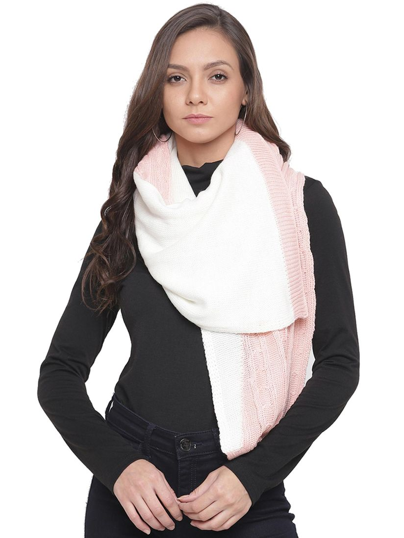 Tossido Scarves Buy Tossido Multi Colour Soft Knit Muffler Online Nykaa Fashion