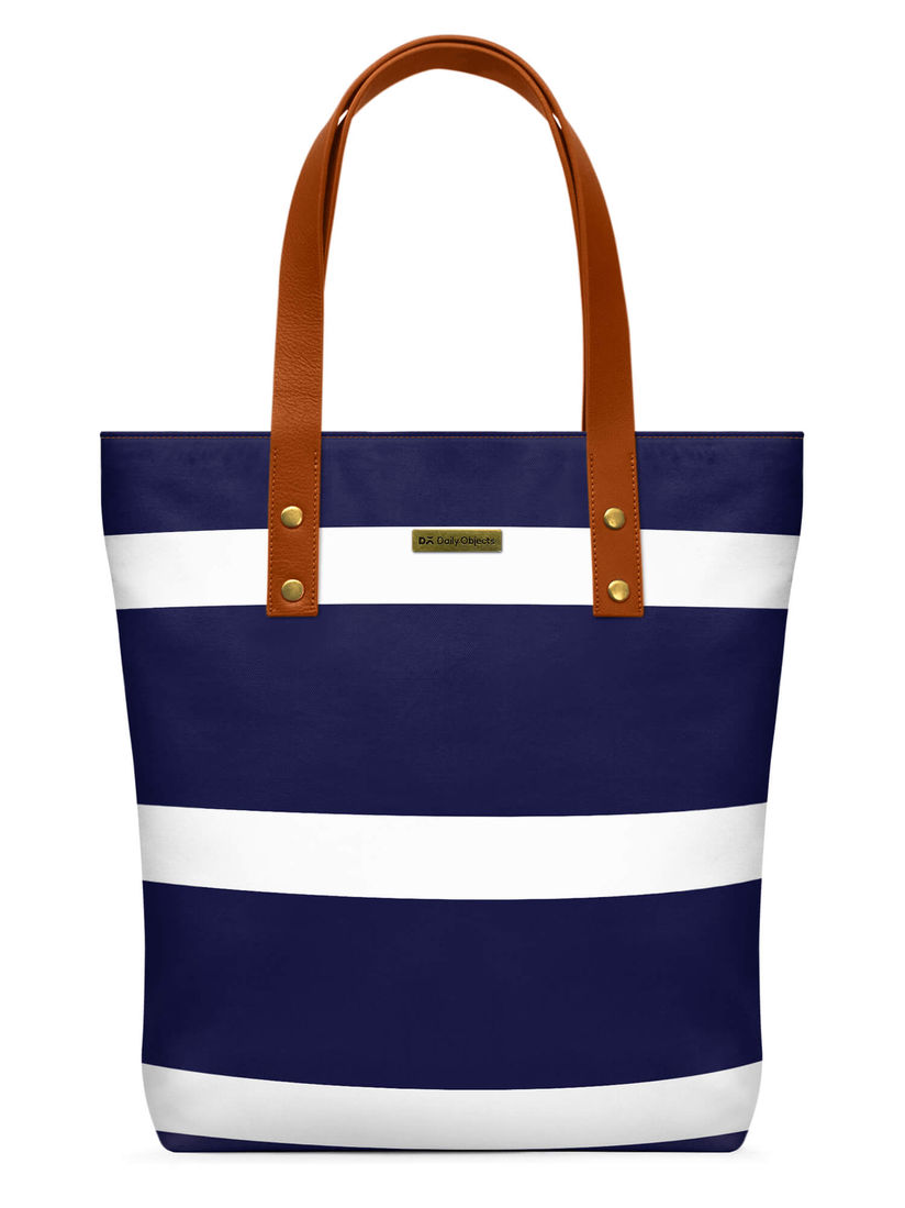 Dailyobjects Navy Blue Tote Bag