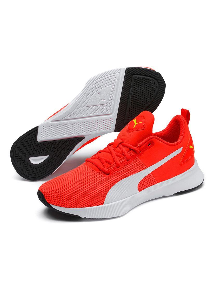 Puma Orange Flyer Unisex Running Shoes