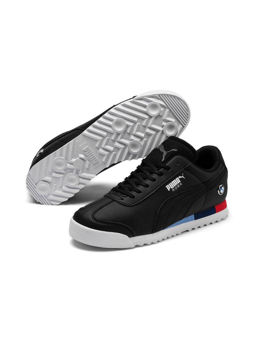 Puma Black BMW MMS Roma Junior Shoes