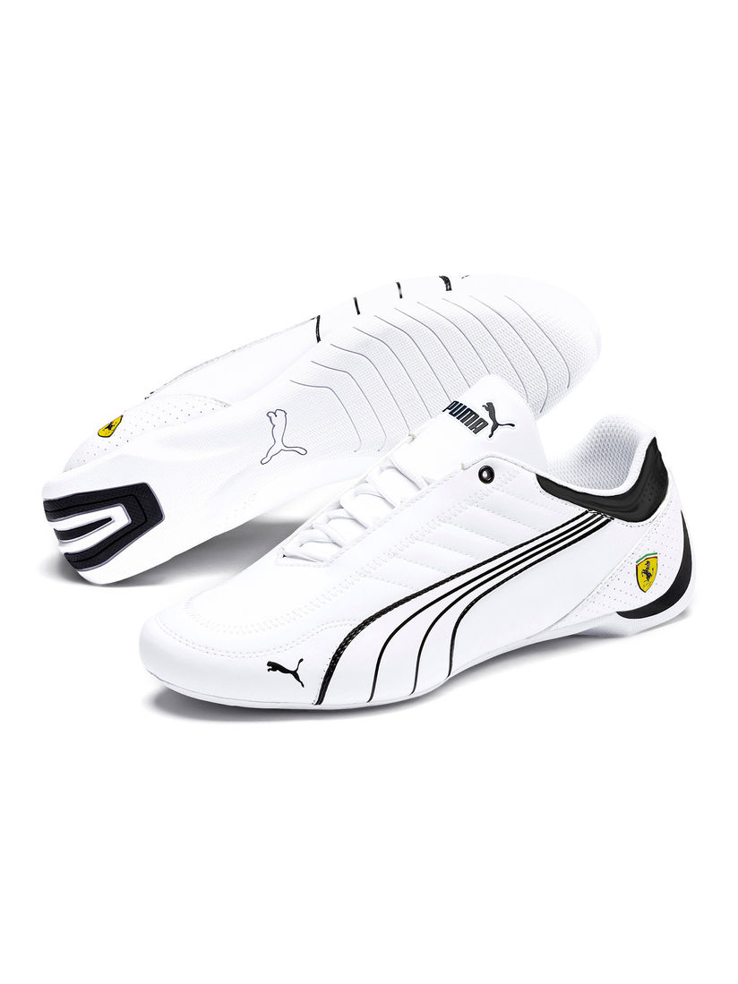 Puma White Ferrari Future Kart Cat Unisex Sneakers