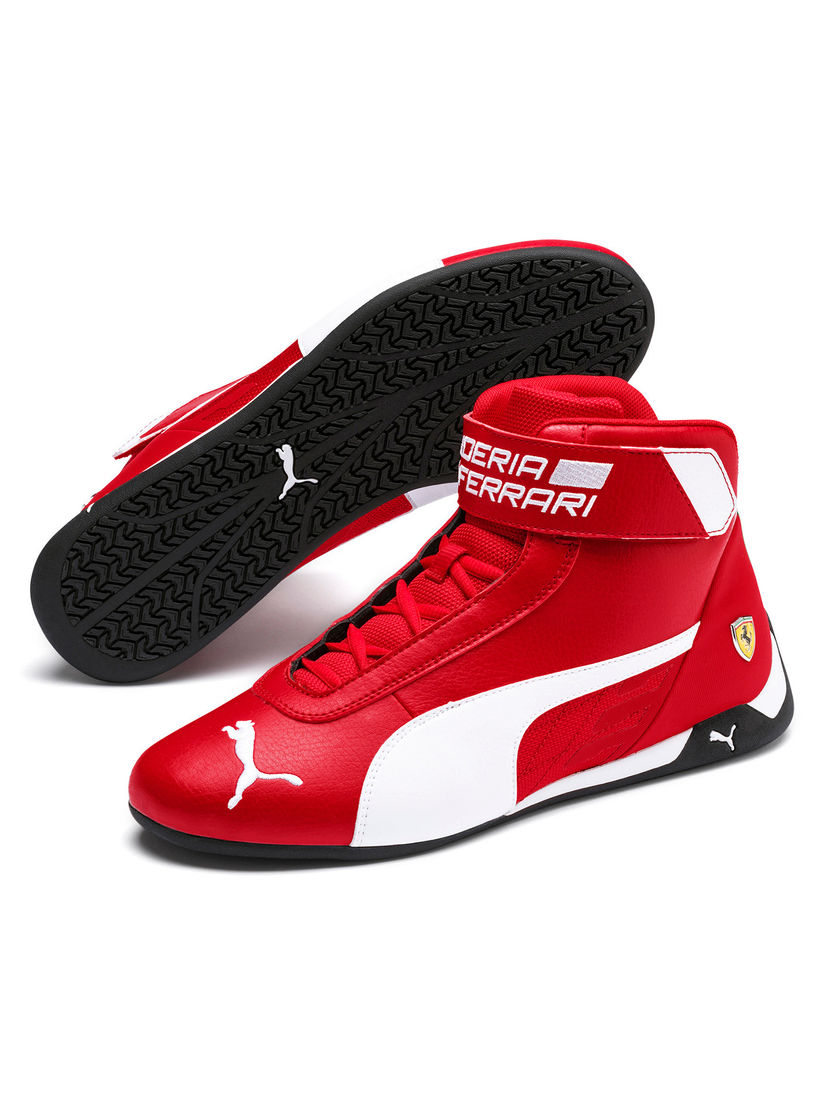 Puma Sports Shoes Sneakers Buy Puma Red Scuderia Ferrari R Cat Mid Unisex Sneakers Online Nykaa Fashion
