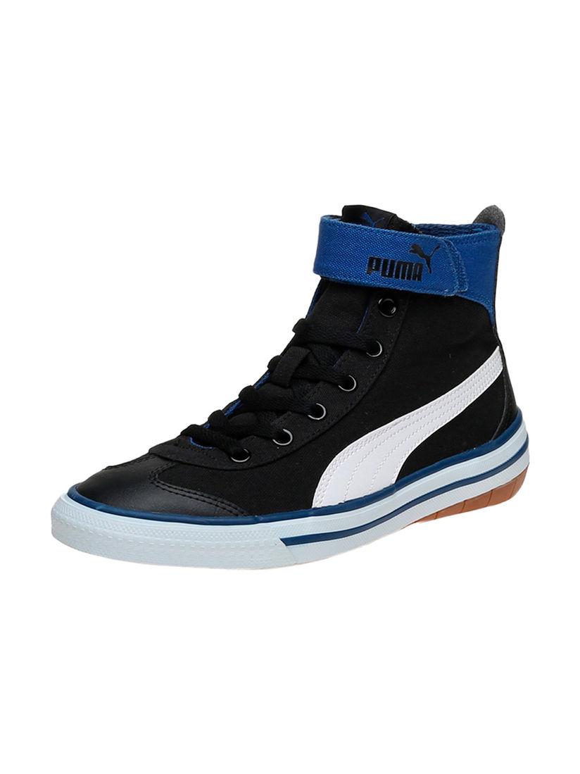 Puma Black 917 FUN Mid Junior IDP Shoes