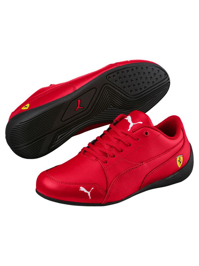 Puma Red SF Drift Cat 7 Junior Shoes