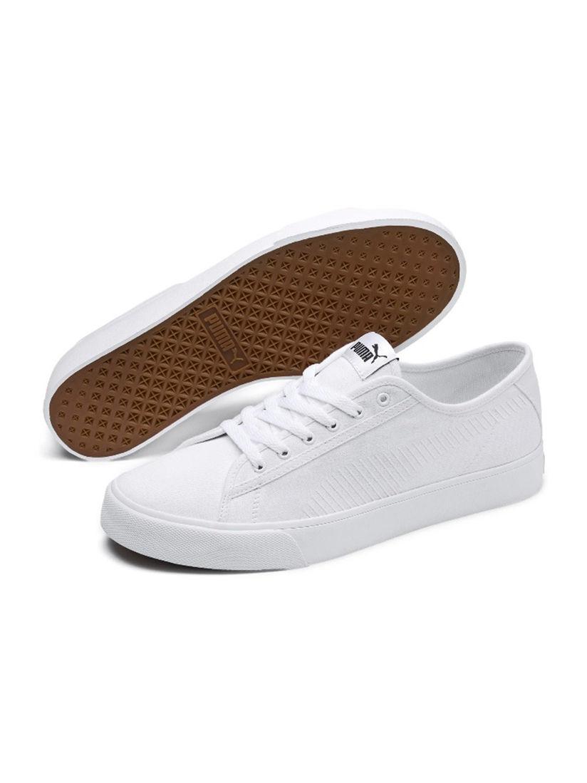 Buy Puma White Bari Unisex Sneakers