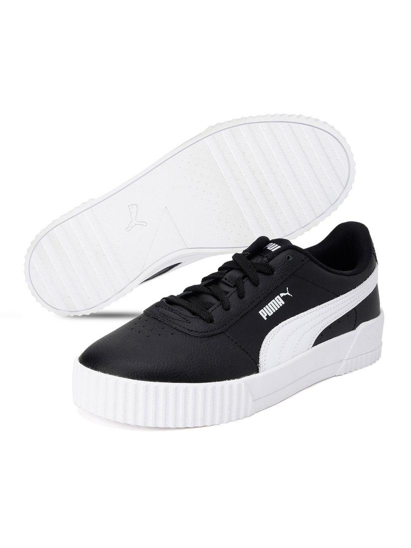 Buy Puma Black Carina Leather Sneakers