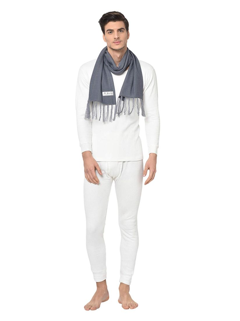 Warmline Scarves And Gloves Buy Warmline Grey Woolmark Pure Wool Self Plain Muffler For Winters Online Nykaa Fashion