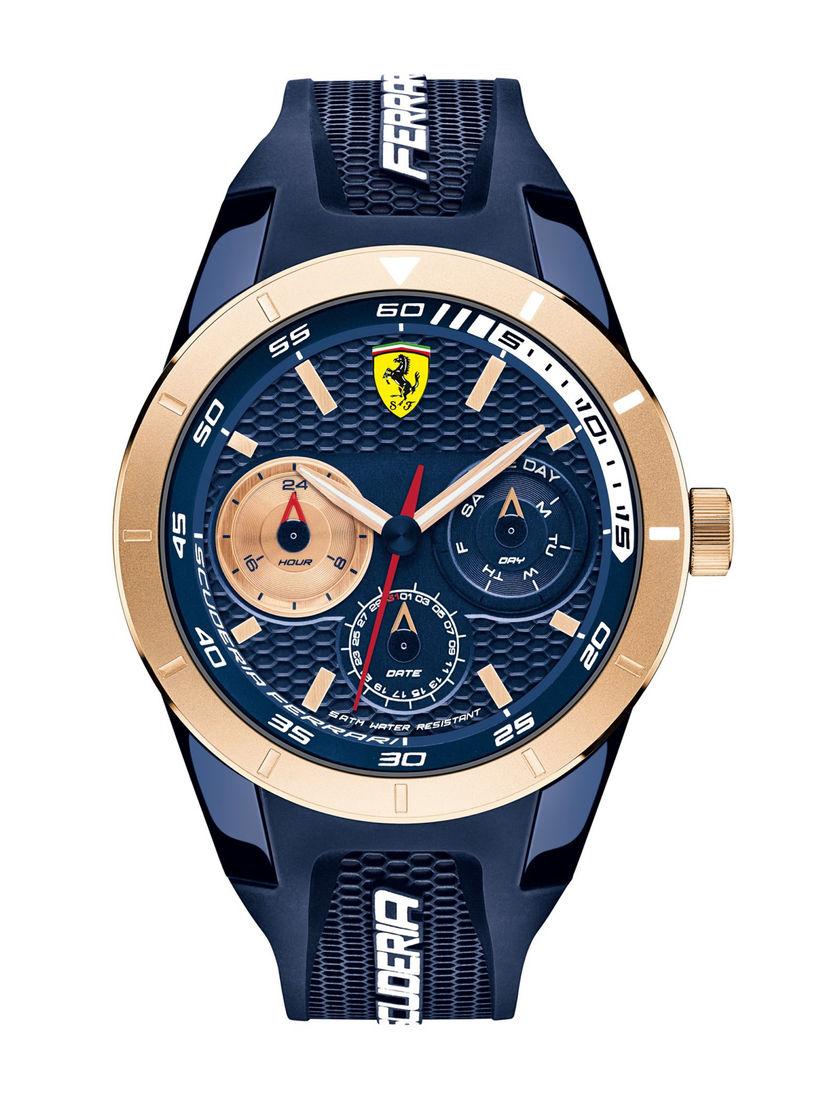 Scuderia Ferrari Watches Buy Scuderia Ferrari Navy Blue Rev T Round Dial Analog Watch 0830379 Online Nykaa Fashion