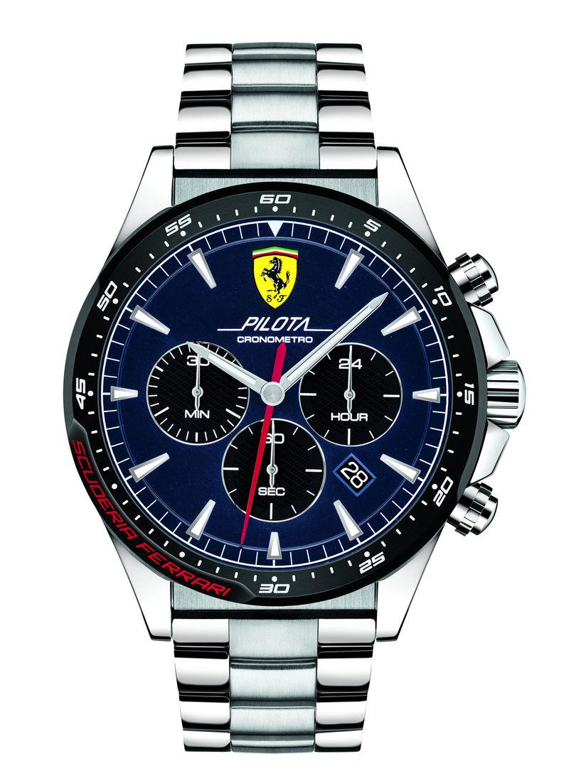 Scuderia Ferrari Watches Buy Scuderia Ferrari Navy Blue Pilota Round Dial Analog Watch 0830598 Online Nykaa Fashion