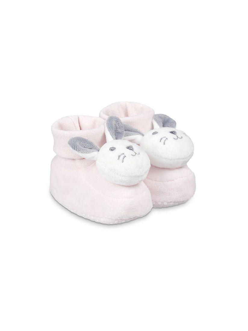 Buy Mothercare Pink Printed Booties