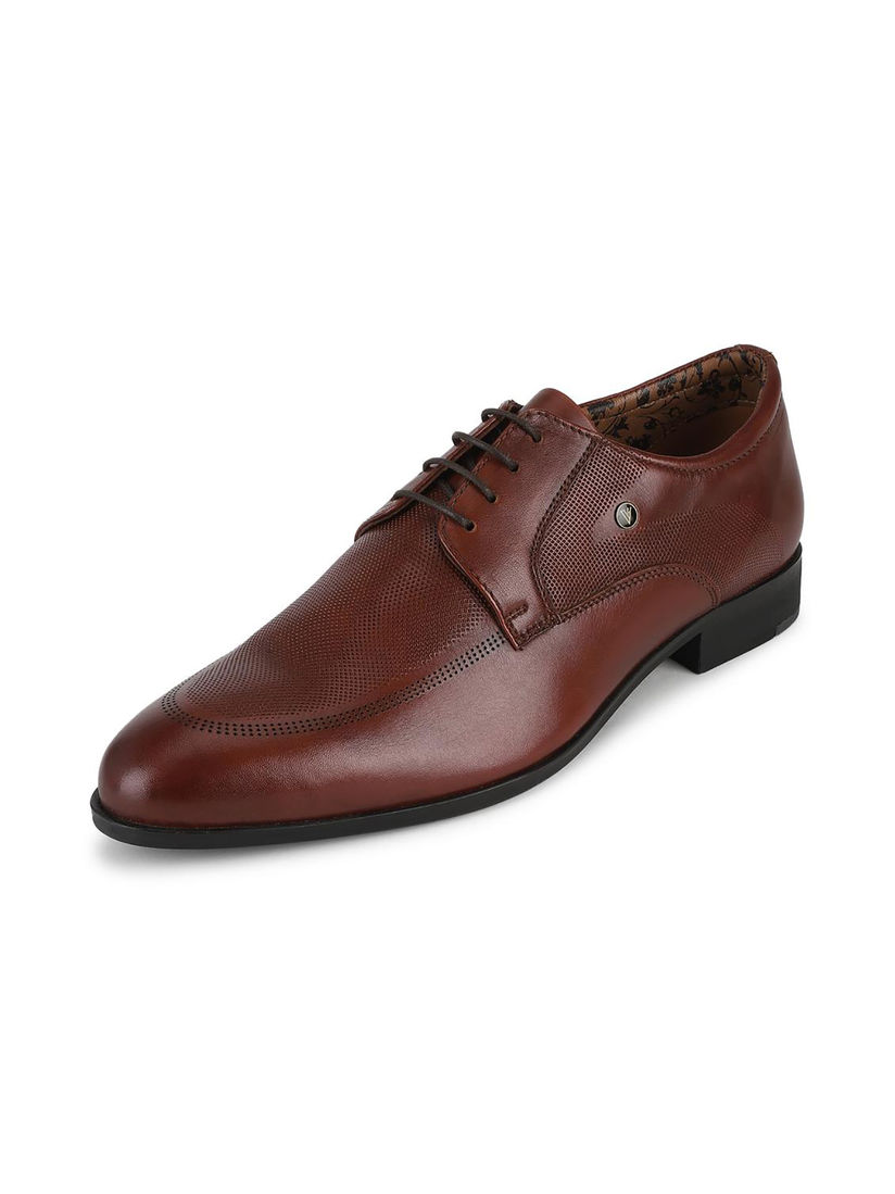 Van Heusen Brown Formal Shoes